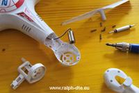 Modifica trasmissione ingranaggi drone