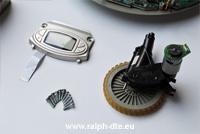 Display Electrolux trilobite e ruota motrice sinistra dotata di stepper e trasmissione