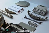 Componenti Electrolux Trilobite - Cover e pacchi batterie