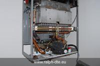 Caldaia priva della parte meccanica ed elettroidraulica