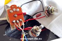 Saldature chitarra elettrica