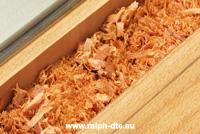 Fresatura legno massello - Il truciolo