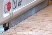 Taglio del legno massello grezzo