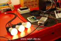 Alimentazione illuminazione a LED mediante fotovoltaico