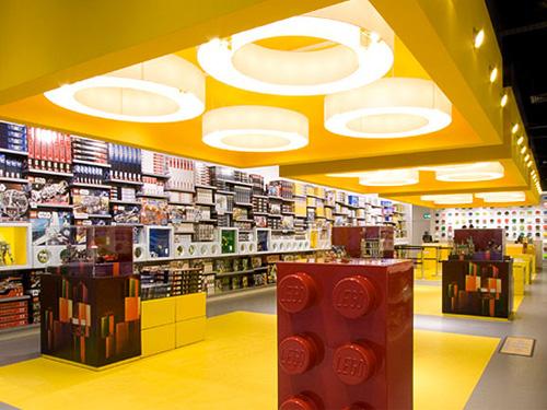 Bellissimo negozio di giocattoli